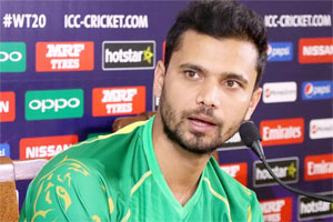 Mashrafe Mortaza is one of the most player of Bangladesh cricket team
