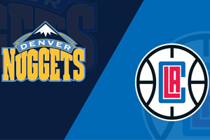 Denver Nuggets - Los Angeles Clippers.Will the underdog be able to bring the streak to a showdown?