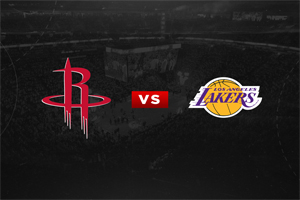 Houston vs Lakers: will the total be broken?
